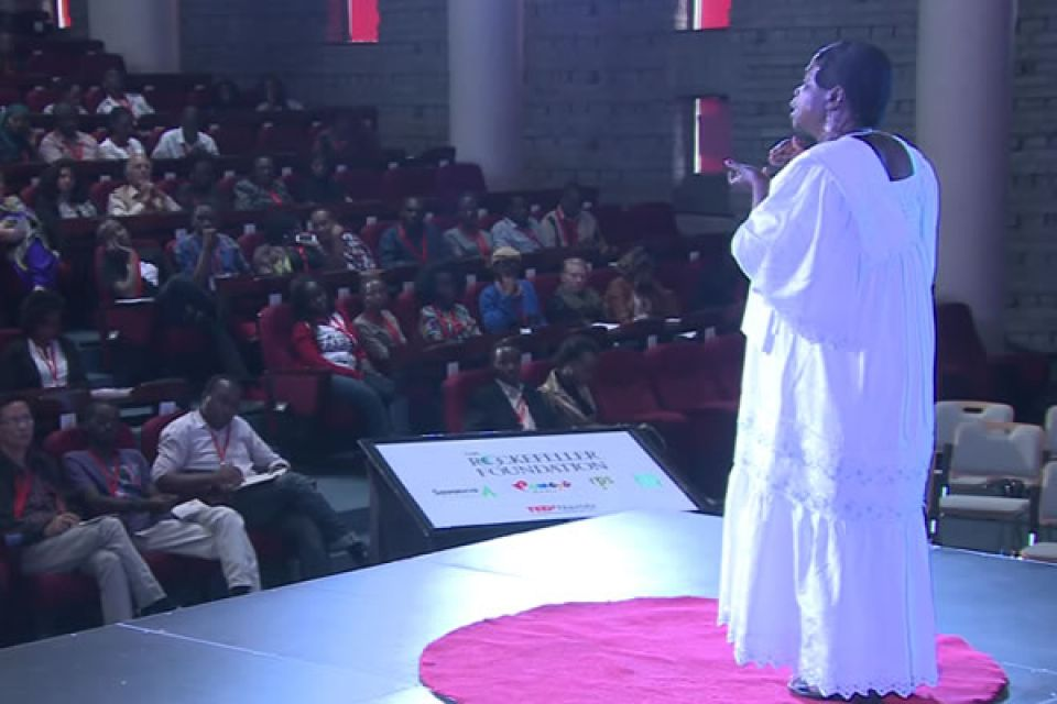 Mrs. Were on TEDx Nairobi
